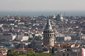 Galata Tower and Istanbul