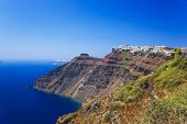 Santorini View (Firostefani) - vacation background