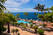 Pool at Tenerife island - Canary Spain