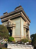 Victory Gate (Patuxai) in Vientiane, Laos