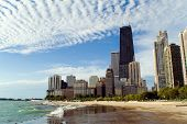 Skyline von Chicago Lakefront