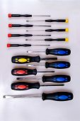 Colored Screwdrivers