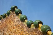 Detail from Casa Batllo in Barcelona