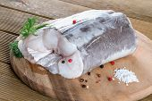Eel fillet with spices