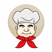 Chef With A Chubby Face