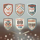 Baseball Sport Emblem
