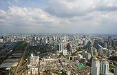 Panoramic View To The Bangkok