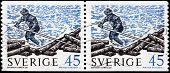 Log Roller Stamps