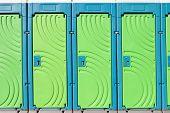 portable toilet doors