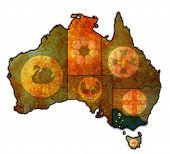 Victoria On Map Of Australia