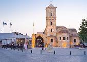 The Evening In Larnaca