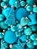 Background Wth Christmas Baubles