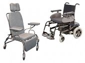 The image of medical chairs
