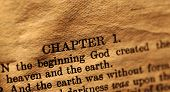 foto of holy-bible  - Close up of a Holy Bible text - JPG
