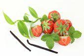 Vanilla With Strawberries