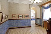 Interior Of Room In Masandra Palace In Crimea