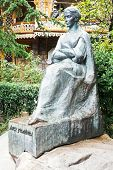 Monument Of Lesya Ukrainka In Yalta City