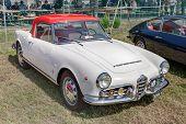 Vintage Car Alfa Romeo Giulietta Spider 1600 (1964)