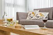 Part Of Luxury Modern Living Room
