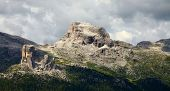 Cinque Torri, rock formation in the Dolomites