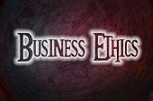 Business Ethics Concept