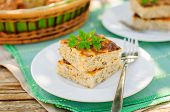 Savory Cheesecake (cottage Cheese Bake) Wiith Herbs