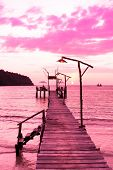 Way to Sunset Jetty to Eternity