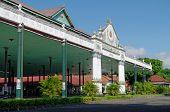 Bangsal Pagelaran the front hall of Yogyakarta Sultanate Palace