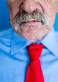 Mustache closeup