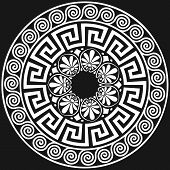 vector Traditional vintage Greek ornament (Meander)