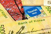 picture of won  - South Korea Won Cash for Korea travel - JPG