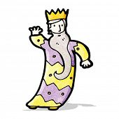 image of three kings  - one of the three kings cartoon - JPG