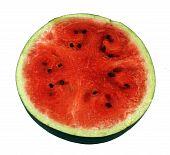 Media watermelon.