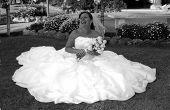 bride on a cloud