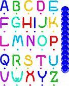 Sequin Alphabet