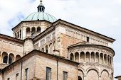 stock photo of pilaster  - detail of Parma Cathedral - JPG