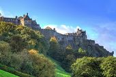 HDR photography of Edinburgh