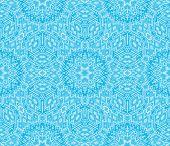 blue Escher graphic
