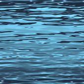 Постер, плакат: поверхность бесшовные воды