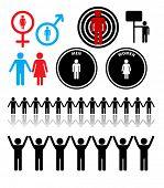vector person symbols