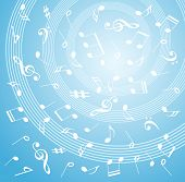 music abstract design