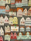 Miniature House Icons