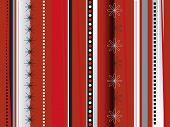 An abstract background in red with a wrapping paper theme