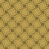 Abstract seamless repeat tile design with a seventies feel