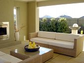 Outdoor Entertaining With Lounge poster
