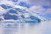 Eisberg, Gletscher jökulsarlon Lagune, Island.