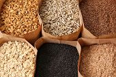 picture of whole-grain  - Whole grains - JPG