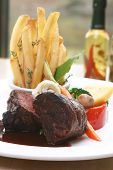 Tenderloin Steak With Fries