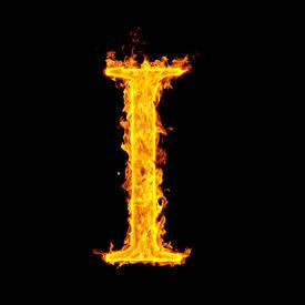 foto of alphabet letters  - i  - JPG