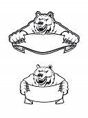 Salvaje oso Kodiak